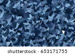 light blue vector of small...