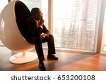 side view of african american...   Shutterstock . vector #653200108