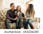 family home | Shutterstock . vector #653236285