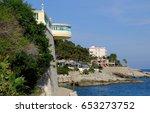 cap d'ail  france | Shutterstock . vector #653273752