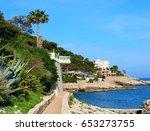 cap d'ail  france | Shutterstock . vector #653273755