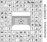 Soccer Icon. Sport Set Of Icons