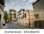old building in unesco world... | Shutterstock . vector #653286652