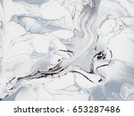 abstract hand painted... | Shutterstock . vector #653287486