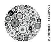 Vector Illustration Of Gray...