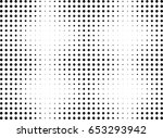 abstract halftone dotted... | Shutterstock .eps vector #653293942