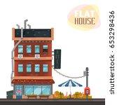 hotel. illustration on a theme...   Shutterstock .eps vector #653298436