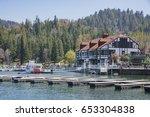 san bernardino  apr 19  port in ... | Shutterstock . vector #653304838