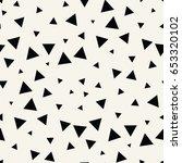 minimal graphic geometric... | Shutterstock .eps vector #653320102
