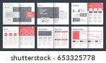 design proposal  vector... | Shutterstock .eps vector #653325778