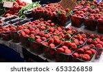 the farmer's market. marmaris ... | Shutterstock . vector #653326858