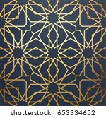 islamic arabic background. gold ...   Shutterstock .eps vector #653334652