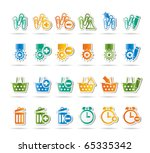 24 business  office and website ... | Shutterstock .eps vector #65335342
