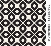 vector seamless pattern.... | Shutterstock .eps vector #653357932