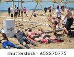algarve portugal 29 april 2017  ... | Shutterstock . vector #653370775