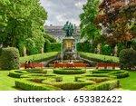 brussels  belgium   may 11 ... | Shutterstock . vector #653382622