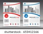 business brochure flyer...   Shutterstock .eps vector #653412166