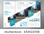 business brochure. flyer design.... | Shutterstock .eps vector #653422558