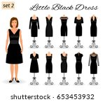 fashion woman character in... | Shutterstock .eps vector #653453932