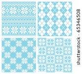 nordic pattern | Shutterstock .eps vector #65346508