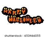 halloween | Shutterstock . vector #653466055