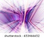 abstract background element. 3d ... | Shutterstock . vector #653466652