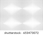 abstract halftone dotted... | Shutterstock .eps vector #653473072