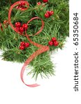christmas. red decoration | Shutterstock . vector #65350684