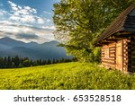 Historic Wooden Cottage And...
