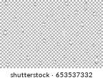 water rain drops  bubbles .... | Shutterstock .eps vector #653537332