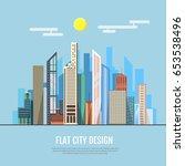 flat style modern design of... | Shutterstock .eps vector #653538496