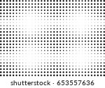 abstract halftone dotted... | Shutterstock .eps vector #653557636