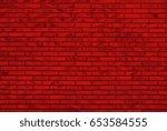 Red Brick Wall   Irregular...