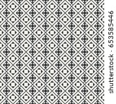 seamless pattern. geometrical... | Shutterstock .eps vector #653585446