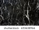 black marble texture  | Shutterstock . vector #653638966