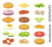 vector illustration of... | Shutterstock .eps vector #653651692