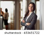 ceo owner leader company staff... | Shutterstock . vector #653651722