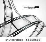 film strip vector background | Shutterstock .eps vector #65365699