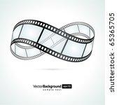 Film Strip Infinity Vector...