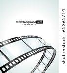 film strip vector background | Shutterstock .eps vector #65365714