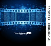 film strip vector background | Shutterstock .eps vector #65365717
