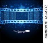 film strip vector background | Shutterstock .eps vector #65365717