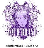 vector tshirt design | Shutterstock .eps vector #6536572