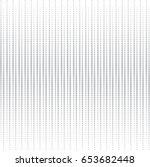 vector dot pattern. geometric... | Shutterstock .eps vector #653682448