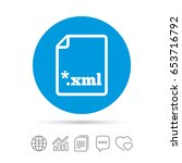 file document icon. download... | Shutterstock .eps vector #653716792