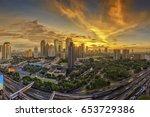 jakarta officially the special... | Shutterstock . vector #653729386