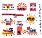 Grand Opening Event Vector...