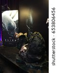 Small photo of Bangkok, Thailand - June 4, 2017: Beautiful Standee of Movie Alien : Covenant displays at the theater