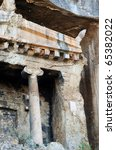 ruins in Turkey - stock photo