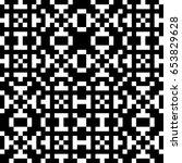 vector seamless pattern.... | Shutterstock .eps vector #653829628